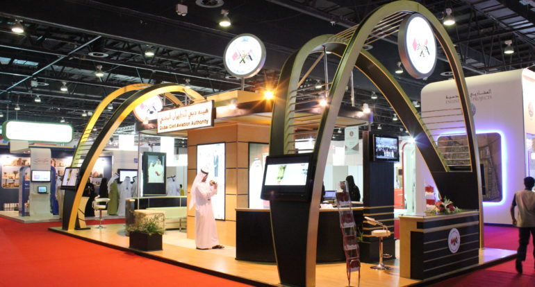 Sungard Exhibition Stand Out : Dubai civil stand exhibition servcies uae