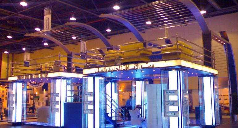 3b Exhibition Stands - Emirates Iron & Steel Economy