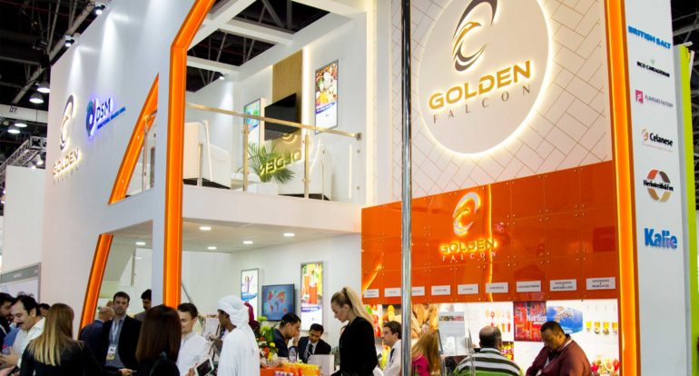 Golden Falcon Gulfood Manufacturing 2017 - Exhibition Stand