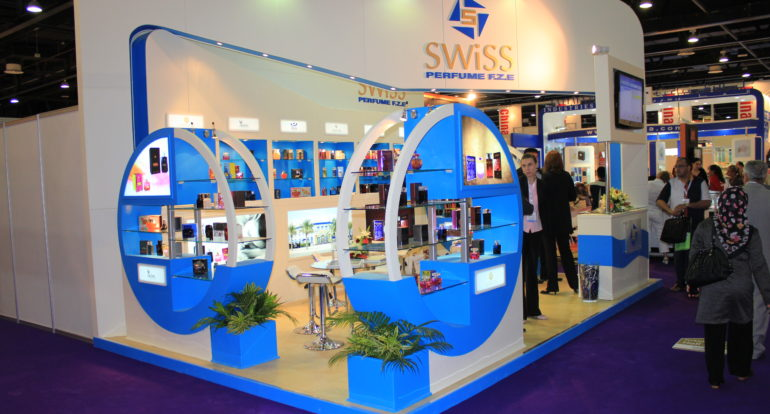 3b Exhibition Stands - Swiss Perfume