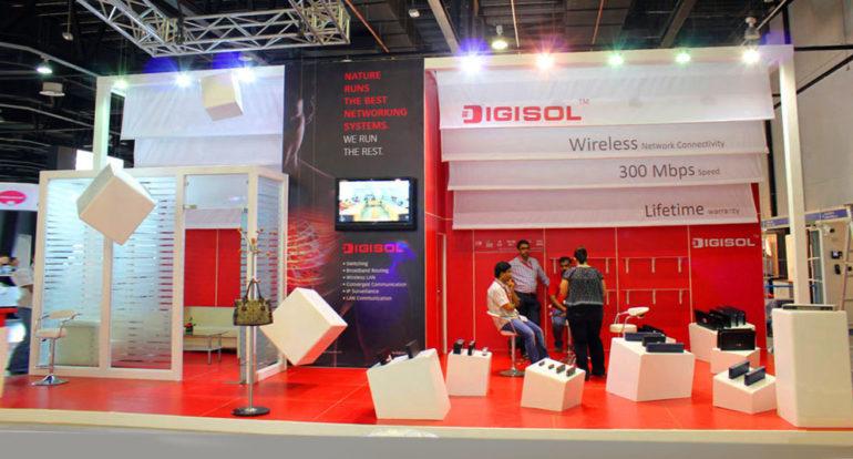 3b Exhibition Stands - DIGISOL- Gitex 2011