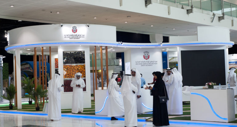 Abu Dhabi agriculture and food safety authority - Exhibition Stand